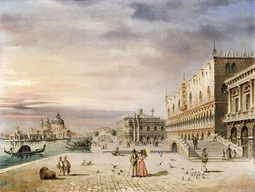 8C: Marco Grubas (1839-1910) Venezia