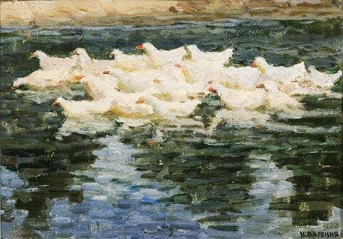 10C: Nikolai Romanovich Varennya  (1917) Oche sul fiume