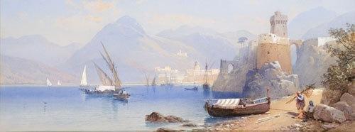 12C: Thomas Charles Leeson Rowbotham (1823-1875) Veduta