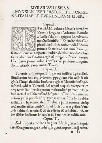 2D: Annius, Johannes. Auctores Vetustissimi Nuper in l