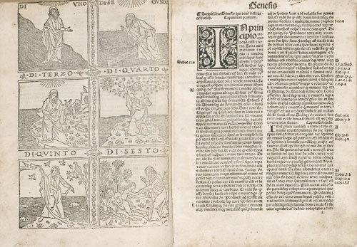 3D: Bibbia. Biblia latina cum tabula nuper impressa et