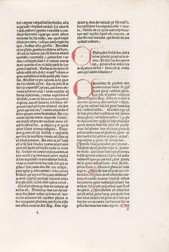 4D: Bonaventura, santo. Commentarius in secundum libru