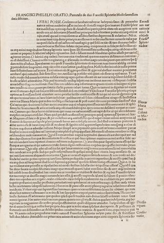 6D: Bruni, Leonardo. Epistolarum familiarum libri VIII