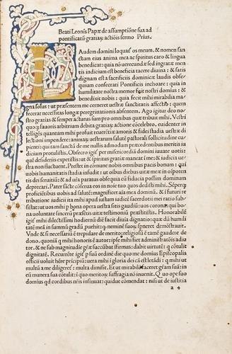 17D: Leone Magno, papa. Sermones.