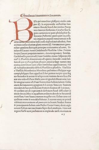 19D: [Lucano] - Bonisoli, Ognibene. In Lucanum commentu