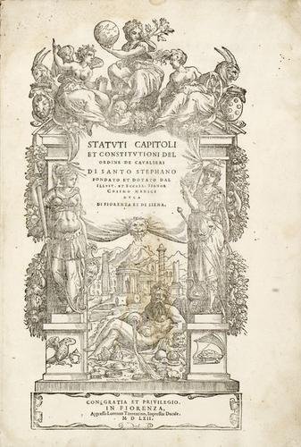 105D: Ordine dei Cavalieri di Santo Stefano. Statuti ca