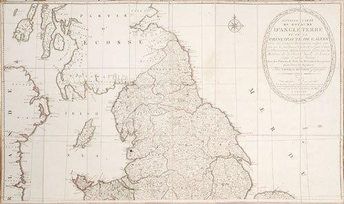 262D: Cartografia - Kitchin, Thomas. Nouvelle carte du