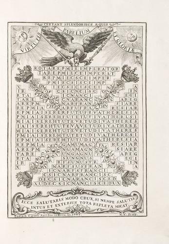 263D: Cartoli, Eustachio. Pro neo-Cesare sistrum.