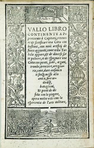 20: Fortificazioni - Valle, Giovanni Battista. Vallo L
