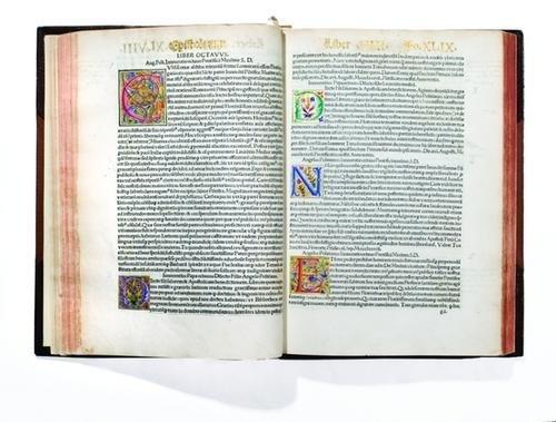 464: Poliziano, Angelo. Omnium operum tomus...