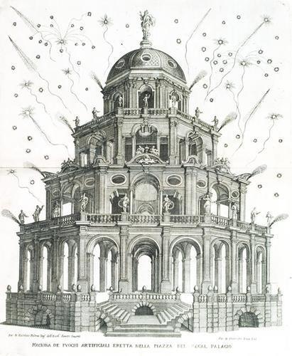 559: Sicilia - La Placa, Pietro. La reggia in trionfo p