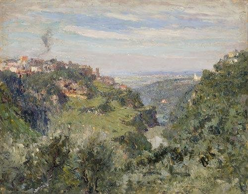 15: Lidio Ajmone (1884-1945) Tivoli, la valle dell'Ani