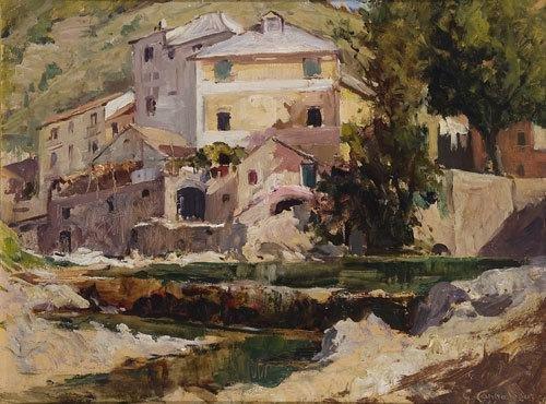 16: Giovanni Cappa Legora (1887 - 1970)  'Casolari lig