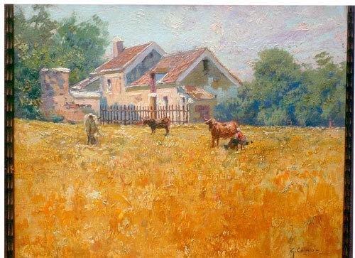 17: Giovanni Colmo (1867-1947) Vita in campagna