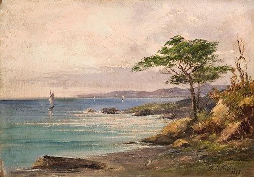 20: Attribuito a Silvio Allason (1845 - 1912) Veduta c