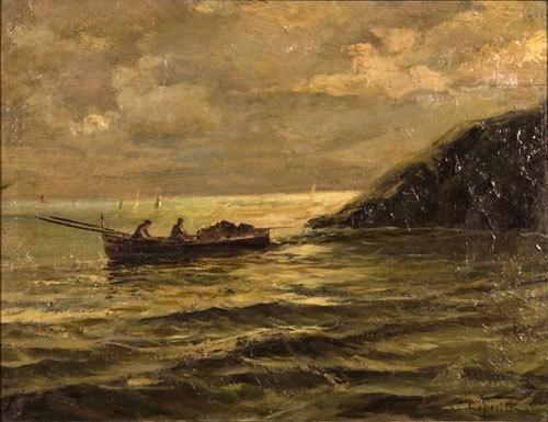21: Cesare Esposito (1886-1943) Marina ligure