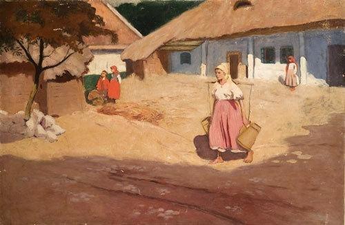 102: Wlodzimierz Tetmayer (1862-1923) Contadine nell'ai