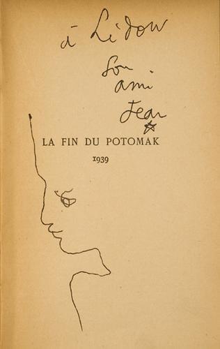 14: Cocteau, Jean. La fin du Potomak.