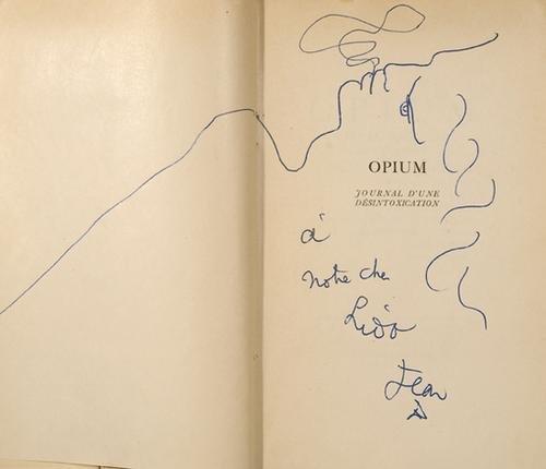 15: Cocteau, Jean. Opium.