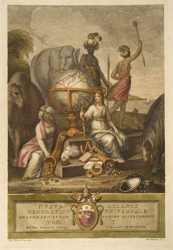 257: Atlante - Cassini, Giovanni Maria. Nuovo Atlante g