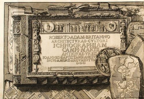 335: Roma - Piranesi, Giovanni Battista. Roberto Adam B