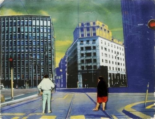 """6: Franco Fontana (1933) """"Milano"""" 1997"""