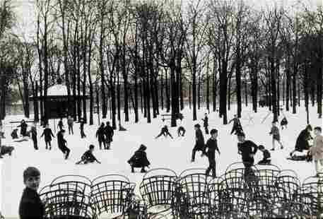 "104: Edouard Boubat (1923-1999) ""Première neige, Jardin"