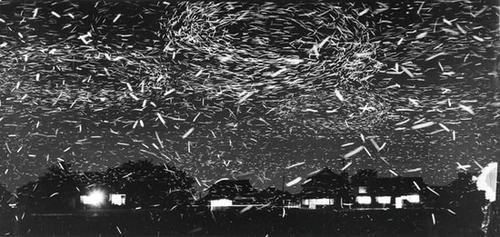200: Yoichi Midorikawa (1915-2001) Fireflies, ca. 1950