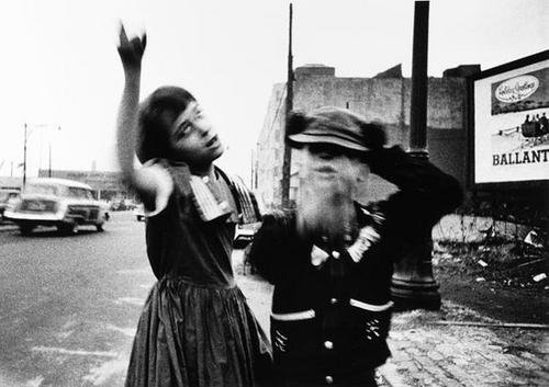207: William Klein (b. 1928) Dance in Brooklyn, New Yor