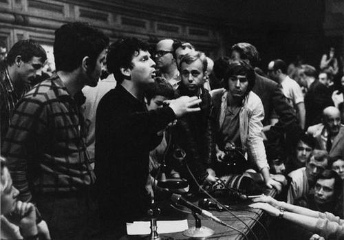 217: Martine Franck (b. 1938) Daniel Cohn Bendit, 1968