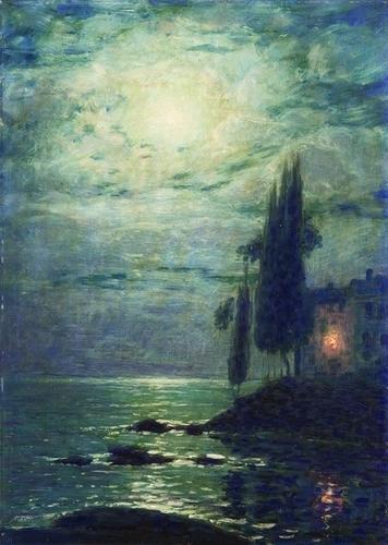 15: Carlo Costantino Tagliabue (1880-1968)  Notturno s