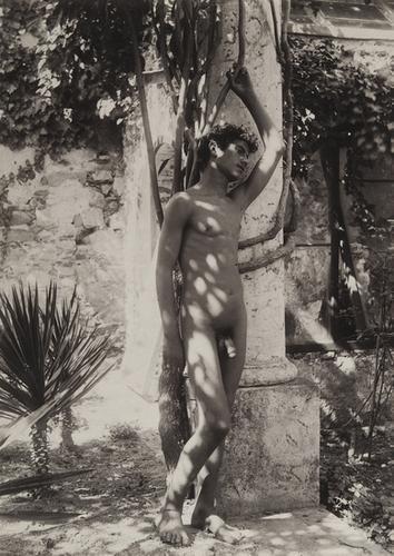 10: Wilhelm Von Gloeden (1856-1931) Untitled (Male nud