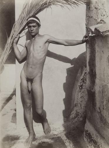 11: Wilhelm Von Gloeden (1856-1931) Untitled (Male nud