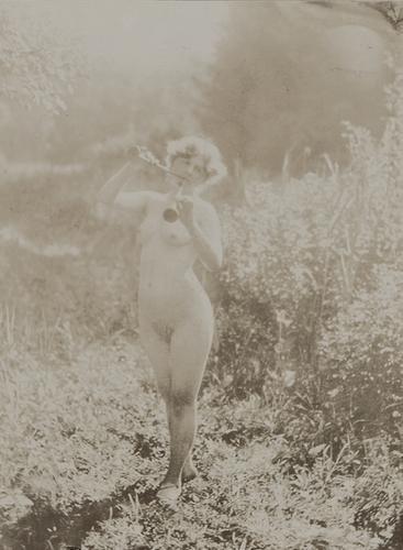 13: Alphonse Mucha (1860-1939) Untitled (Study of nude