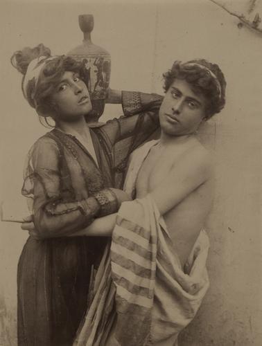 15: Wilhelm Von Gloeden (1856-1931) Untitled (Classic