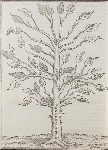 16: Boccaccio, Giovanni. Geneologia de gli dei.