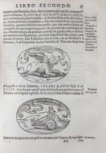 19: Capaccio, Giulio Cesare. Delle imprese. Trattato