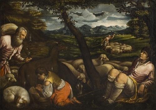"""10: """"Leandro Bassano (Bassano 1557 - Venezia 1622)  e"""