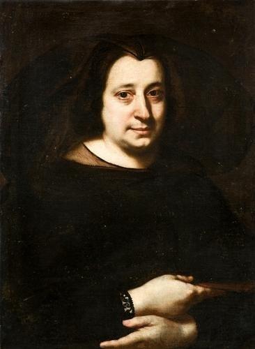 """24: """"Justus Sustermans (Anversa 1597 - Firenze 1681) R"""