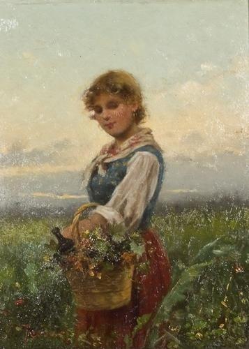 4: Vittorio Tessari (1860-c.1940)  Giovane contadinel