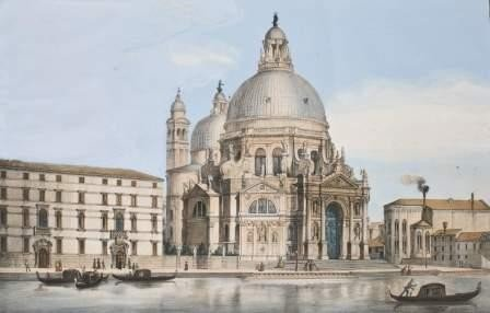 5: Scuola italiana del XIX secolo Venezia, Chiesa del