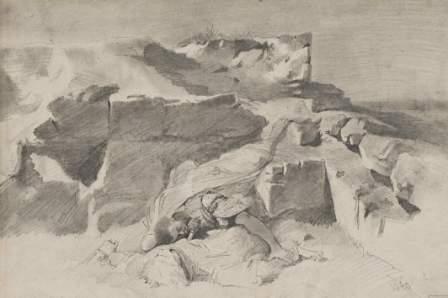7: Hans Makart (1840-1884)  Il duello, 1860