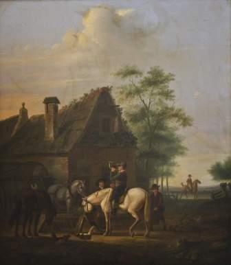 8: Attribuito a Arie Johannes Lamme (1812-1900) Tromb