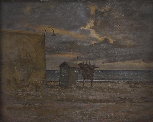 16: Francesco Arata (1890-1956) Sera sul lungomare, 19