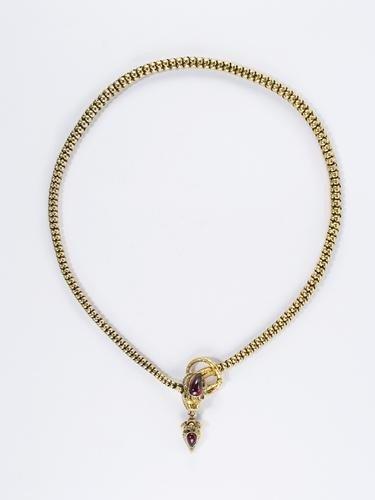 11: Collier vittoriano in oro