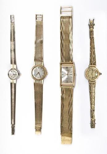 202: Lotto di quattro orologi