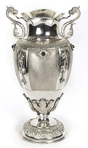 1: Vaso portafiori, Milano, 1944-1968, bollo dell'arg