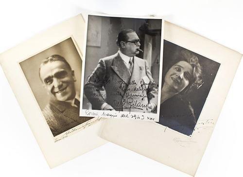 2: Attori celebri degli anni Trenta. Foto.