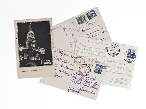 15: Dalla Chiesa, Carlo Alberto. Serie di cartoline au