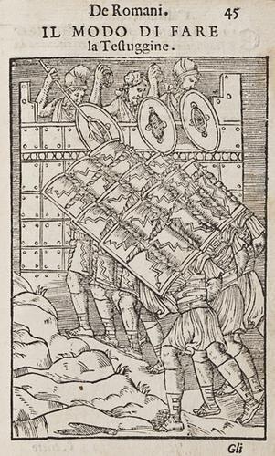 148: Militaria - Choul, Guglielmo. Discorso....sopra la